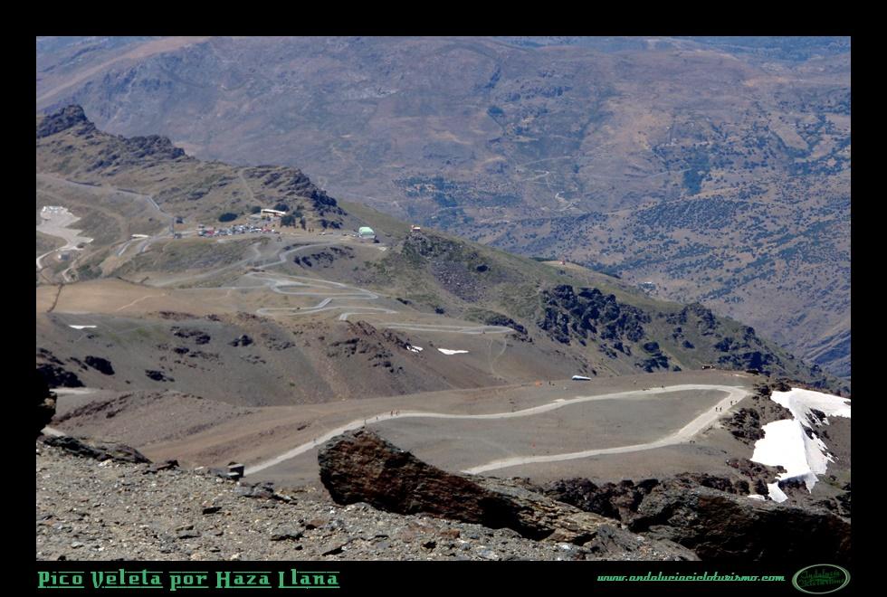 La ascensión hasta el pico Veleta es única en Europa por la altitud que se alcanza y desnivel que se ha de superar.